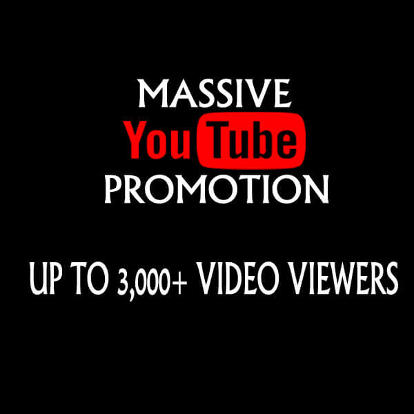 3000 YouTube USA High Retention Safe Views and YouTube Likes
