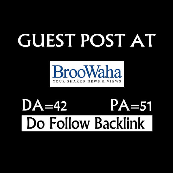 Do Guest Post On Broowaha