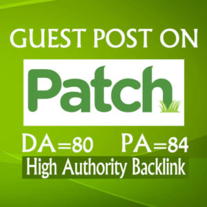 I Will Write And Publish A Guest Post On Patch