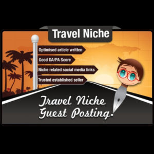 I Will Write and Guest Post on the Travel niche DA 50