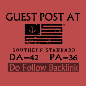 I will write a guest post for you at Southernstandard
