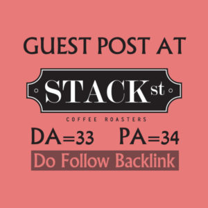 I will write a guest post for you at Stackstreet
