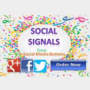 Make 220 social signals directly from site media buttons
