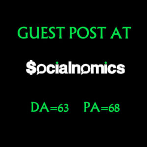Post an article on Socialnomics