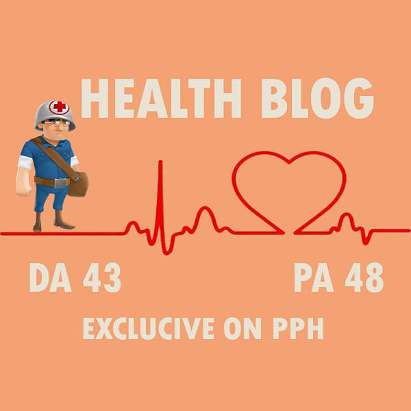 We Will Write and Publish Guest Post on Health Blog DA70 with DoFollow  Backlink