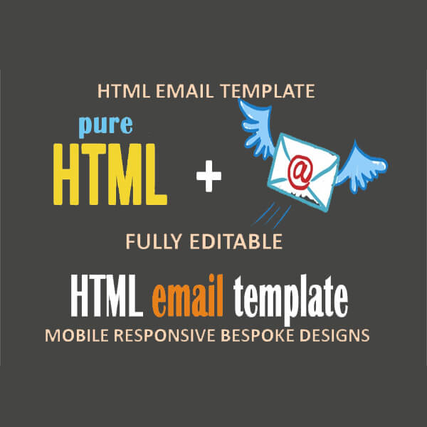 We Will Design And Code A Fully Responsive Editable Html Email