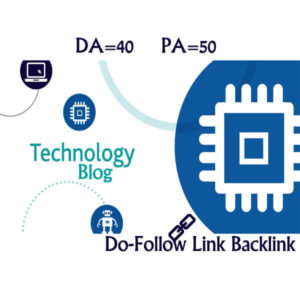 We will write and publish 5 Guest Post on Technology IT Blog ( DA-40, PA-50)