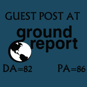 Write And Publish Guest Post On Groundreport