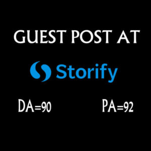 Write a guest post for you at storify