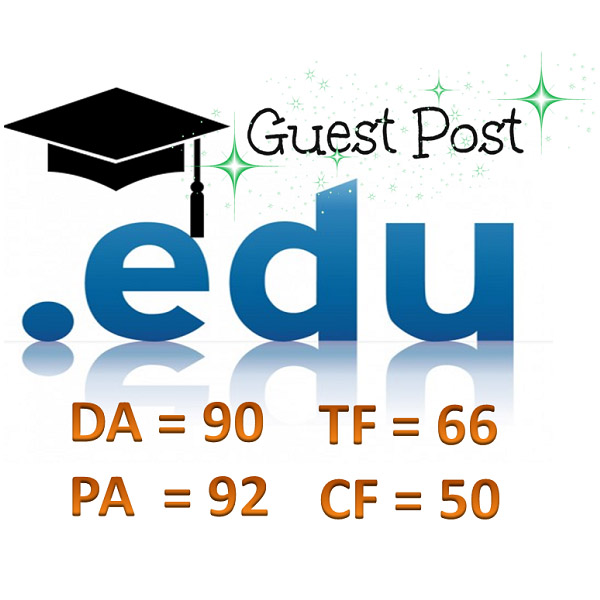 Write and publish High Authority Educational Guest Post for